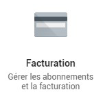 G Suite Facturation