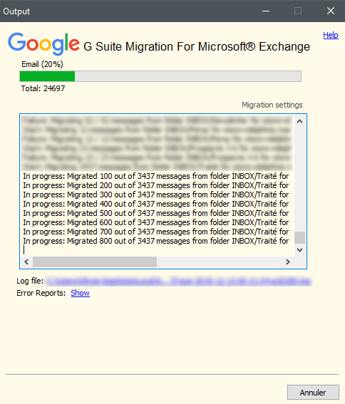 Google GSuite Migration Microsoft Exchange
